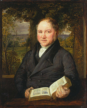John Varley (painter) - Portrait of John Varley by John Linnell, 1820