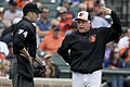 John Tumpane and Buck Showalter in 2014 (14187753994).jpg