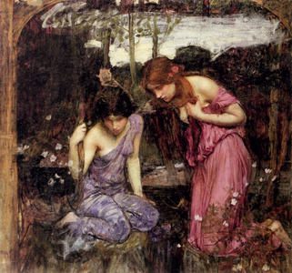 Study for Nymphs Finding the Head of Orpheus1900