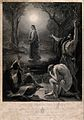 John the Baptist hails Jesus as the messiah to two of his di Wellcome V0034695.jpg