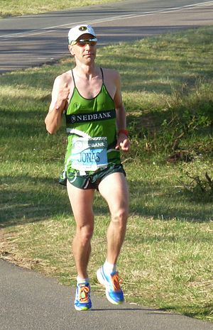 Jonas Buud - Buud in the Comrades Marathon, 2013, where he finished second