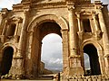 Jordan, Jerash (The Arch of Hadrian - detail 1).jpg