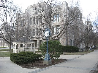 Arthur Jordan Memorial Hall - Image: Jordan Hall 1