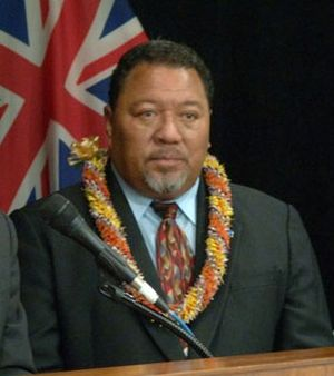 President of the Federated States of Micronesia - Image: Joseph Urusemal