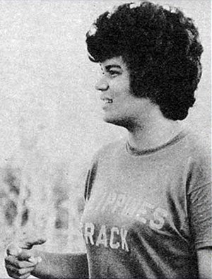 Josephine de la Viña - De la  Viña at the 1974 Asian Games