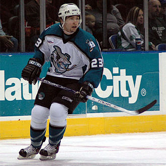 Cleveland Barons (2001–06) - Josh Hennessy with the Barons