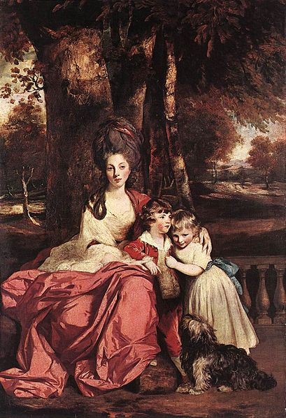 Fil:Joshua Reynolds - Lady Elizabeth Delmé and her Children - WGA19337.jpg