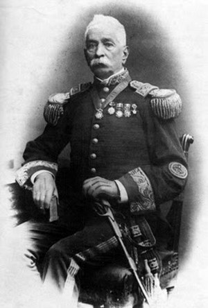 Battle of San Francisco - Juan Buendía, commander of the Peruvian army in the Tarapacá campaign