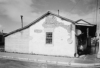 National Register of Historic Places listings in San Benito County, California - Image: Juan de Anza House, Third & Franklin Streets, San Juan Bautista (San Benito County, California)