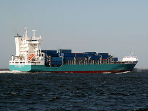 Judith Borchard p1 approaching Port of Rotterdam 15-Jul-2006.jpg
