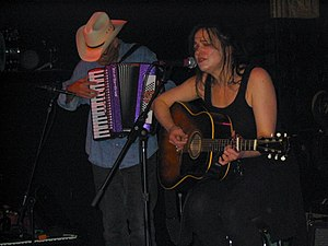 Julie Miller - Miller with Phil Madeira, 2004