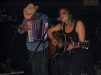 Julie Miller - Miller with Phil Madeira, 2004