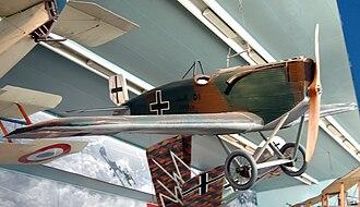 Junkers D.I - Junkers D.I survivor at Musée de l'Air et de l'Espace