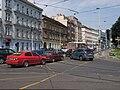 Křižovatka Radlická - Za Ženskými domovy, auta.jpg