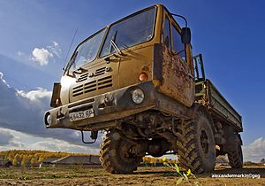 Kutaisi Auto Mechanical Plant - Image: KAZ 4540 (Kolhida) (15347091889)