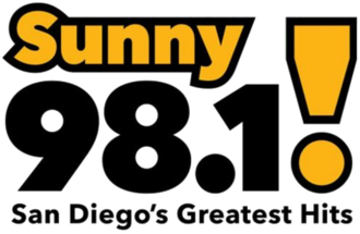 KXSN - Image: KXSN Sunny 98.1 San Diego's Greatest Hits logo