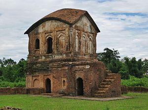Kachari Kingdom - Kachari palace ruins at Khaspur