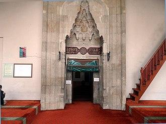 Kahramanmaraş Grand Mosque - Kahramanmaraş Grand Mosque portal, Turkey