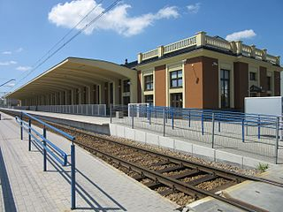 Kalisz railway station