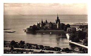 Carl Daniel Ekman - Kalmar Castle in the early 20th century.