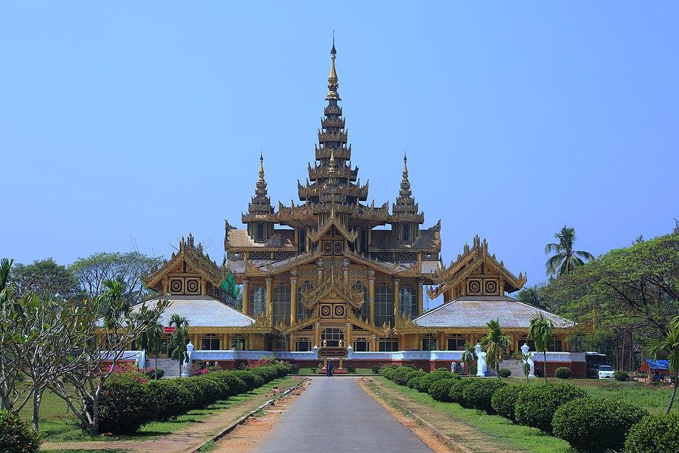 Kanbawzathadi Palace - Bago, Myanmar 20130219-01