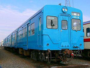 Kantō Railway - Image: Kanto Railway Kiha 3518