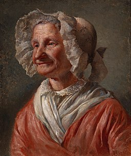 Karl Emanuel Jansson - Old Woman in a White Bonnet - Google Art Project