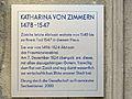 Katharina von Zimmern - Haus zum Mohrenkopf - Neumarkt 13 2014-10-29 11-10-54 (P7800).JPG