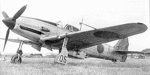 Kawasaki Ki-61 - Image: Kawasaki Ki 61 14