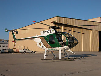 MD Helicopters MD 500 - Kern County Sheriff's MD 500E