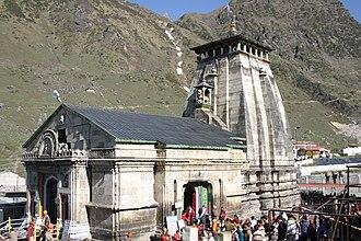Kedarnath Temple - Image: Kedarnath Temple