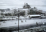 Keijo Station under construction, 1924-10.jpg