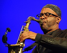 Kenny Garrett performing in 2013