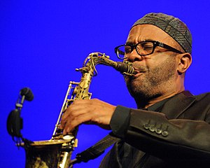 Kenny Garrett - Kenny Garrett performing in 2013