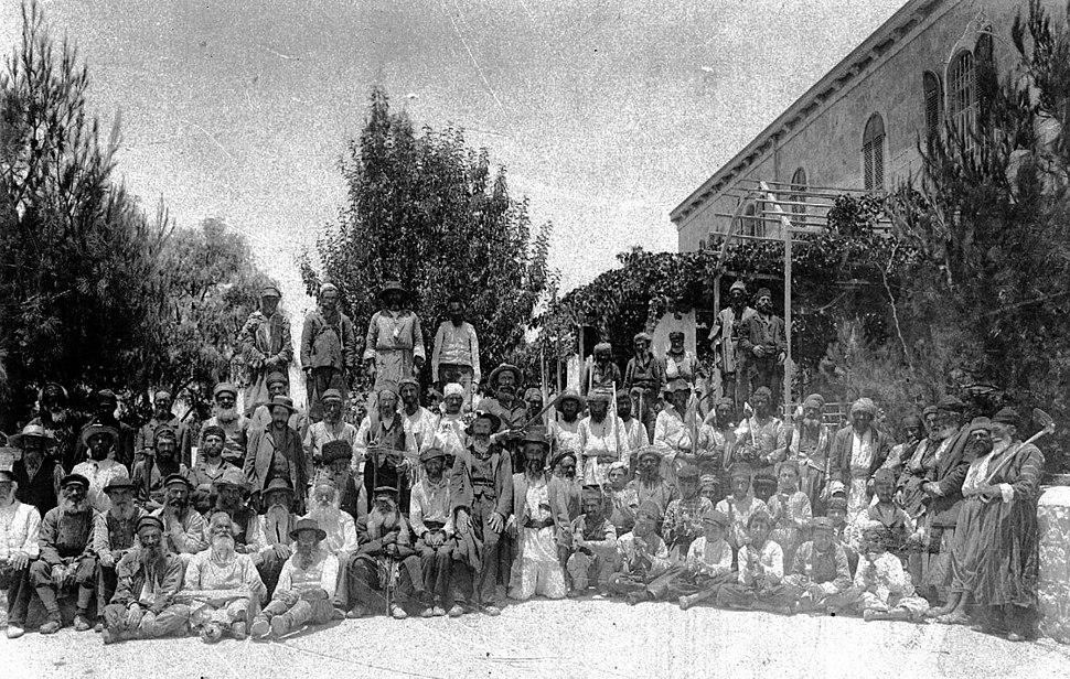Kerem Avraham, Jewish workers