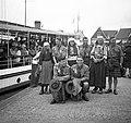 Kikötő, az 5. Nemzetközi Cserkész Világtalálkozó (Jamboree) résztvevői kiránduláson. Fortepan 55769.jpg