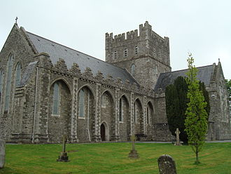 Kildare Cathedral - Image: Kildare Cathedral