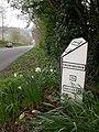 Kilmersdon, milepost - geograph.org.uk - 1249465.jpg
