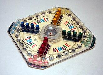 Kimble (board game) - Image: Kimble 1968
