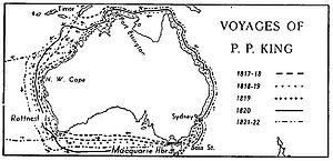 European exploration of Australia - Voyages of Phillip Parker King