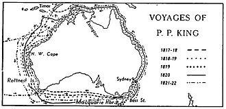 Phillip Parker King - Voyages of King