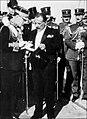 King George II of Greece and regent Kondylis.jpg