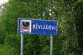 Kivijärvi municipal border sign 20190619.jpg