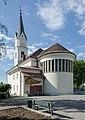 Klagenfurt Kirchengasse 12 Stadtpfarrkirche St Ruprecht SO-Ansicht 29092015 5140.jpg