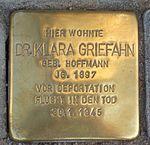 Klara Griefahn Stolperstein Jena.jpg