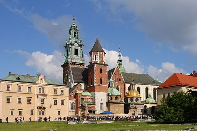 English: Wawel Cathedral in Kraków (Poland). I...
