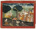 Krishna and Balarama on Their way to Mathura.jpg