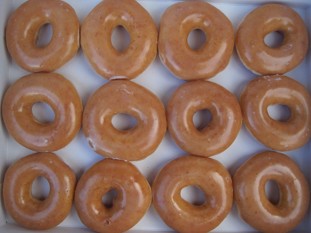 Glazed Doughnuts Wallpaper | www.pixshark.com - Images ...