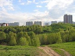 Skyline of Krylatskoye縣
