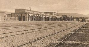 Kohat - Railway station in 1900